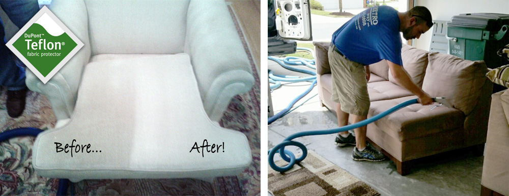 BeforeAfter_Furniture Cleaning Metro Steamway