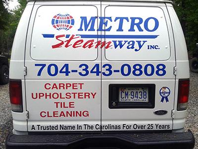 MetroSteamway Van Charlotte NC Area